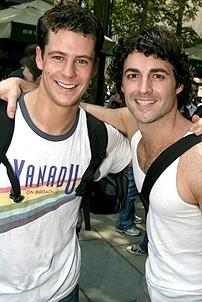 Photo Op - Broadway in Bryant Park 07-26-07 - Luke Hawkins - Max von Essen