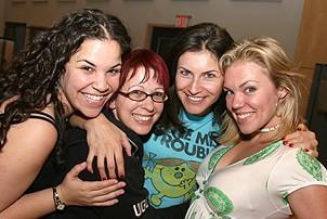 Photo Op - Grease Recording Session - Lindsay Mendez - Kirsten Wyatt - Jenny Powers - Robyn Hurder
