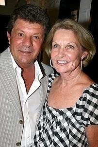 Photo Op - Frankie Avalon at Altar Boyz - Frankie Avalon - (wife) Kathryn