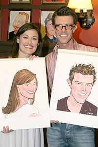 Photo Op - Ashley Brown & Gavin Lee at Sardi's - Ashley Brown - Gavin Lee - 2