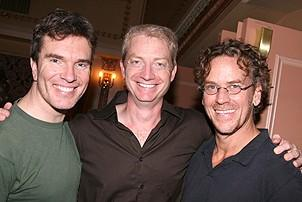 Photo Op - Mamma Mia! Fed Ex Event - Christopher Shyer - Ben Livingston - Pearce Bunting