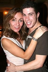 Photo Op - Mamma Mia! Fed Ex Event - Judy McLane - Ben Gettinger