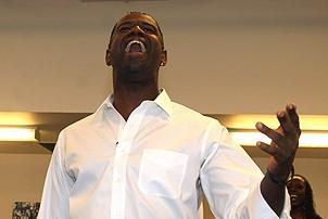 Photo Op - Brian McKnight in Chicago press event - Brian McKnight (singing)
