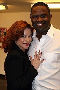 Photo Op - Brian McKnight in Chicago press event - Michelle DeJean - Brian McKnight