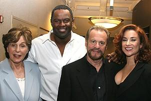 Photo Op - Brian McKnight in Chicago press event - Fran Weissler - Brian McKnight - Barry Weissler - Michelle DeJean