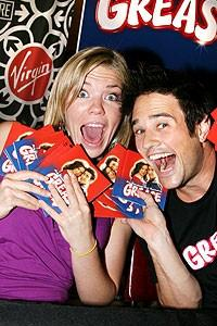 Photo Op - Grease CD signing - Robyn Hurder - Ryan Patrick Binder
