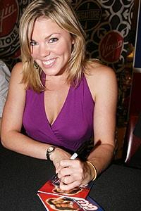 Photo Op - Grease CD signing - Robyn Hurder