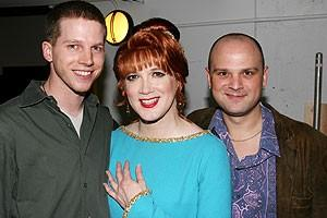 Photo Op - Stark Sands @ Die Mommie Die - Stark Sands - Charles Busch - Carl Andress