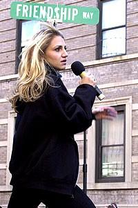 Photo Op - Wicked Day 2007 - Annaleigh Ashford  (singing)