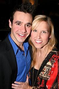 Photo op - Wicked 4th anniversary party - Noah Rivera - Brooke Engen (girlfriend)