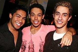 Photo op - Wicked 4th anniversary party - Robert Pendilla - CJ Tyson - Reed Kelly