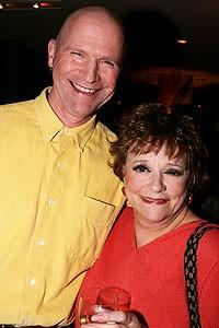 Photo op - Wicked 4th anniversary party - Michael DeVries - Carole Shelley