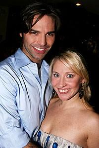 Photo op - Wicked 4th anniversary party - Alexander Quiroga - Kristen Leigh Gorski 