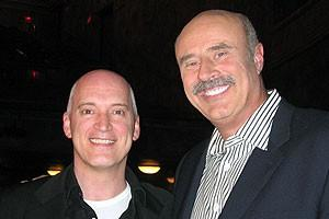 Photo Op - Dr. Phil at Jersey Boys - Donnie Kehr - Dr. Phil McGraw 