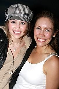 Photo Op - Miley Cyrus at Mamma Mia! - Miley Cyrus - Meghann Dreyfuss