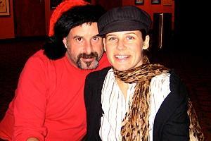 Photo Op - Holidays at Jersey Boys - Ricky - Kelly