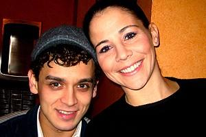 Photo Op - Holidays at Jersey Boys - Michael Longoria - Sara Schmidt
