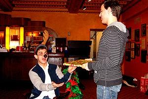 Photo Op - Holidays at Jersey Boys - Michael Longoria - Daniel Reichard