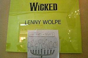 Holidays at Wicked 2007 - Lenny Wolpe's door