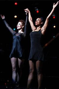 Sopranos Stars at Chicago - cc - Michelle DeJean - Brenda Braxton