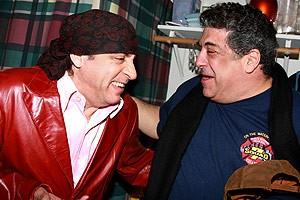 Sopranos Stars at Chicago - Vincent Pastore - Steven Van Zandt