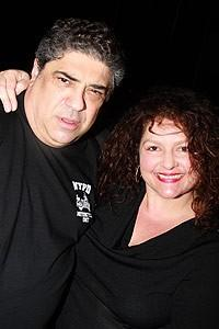 More Sopranos stars at Chicago - Vincent Pastore - Aida Turturro