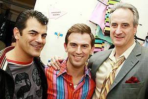 Daniel Reichard's final performance in Jersey Boys - Peter Gregus - Daniel Reichard - Mark Lotito
