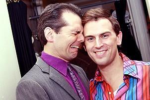 Daniel Reichard's final performance in Jersey Boys - J. Robert Spencer - Daniel Reichard