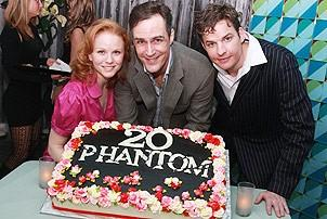 Phantom of the Opera - 20th Anniversary - Jennifer Hope Wills - Howard McGillin - Tim Martin Gleason