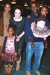 Chris Rock at The Little Mermaid - Malaak - Lola - Sierra Boggess - Chris Rock - Zahra