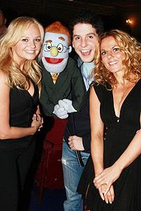 Spice Girls @ Ave Q - Emma Bunton - Geri Halliwell - Howie Michael Smith