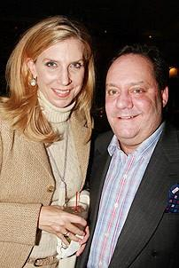 Next to Normal Opening - James Nederlander Jr. - Margo McNabb