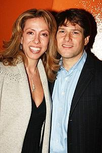 Next to Normal Opening - Amanda Green - husband Jeff