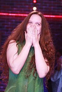 Lauren Pritchard Leaves Spring Awakening - Lauren Pritchard - curtain    Lauren Pritchard Spring Awakening