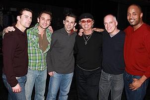 Dion at Jersey Boys - Dion - Dominic Nolfi - Eric Gutman - Travis Cloer - Donnie Kehr - Kris Coleman