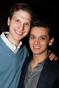 Jersey Boys Celebrate 1000 - Michael Longoria - Sebastian Arcelus