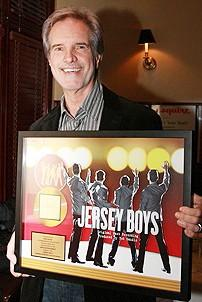 Jersey Boys Celebrate 1000 - Bob Gaudio (with plaque)