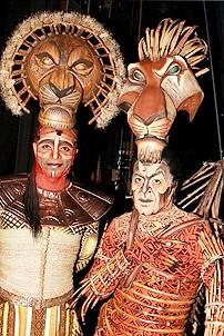 Diane Lane at Lion King - Nathaniel Stampley - Derek Smith