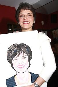 Priscilla Lopez Caricature at Sardi's - Priscilla Lopez (with picture)