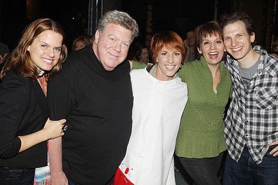 Elf opens – Amy Spanger – George Wendt –Lisa Gajda - Beth Leavel – Sebastian Arcelus