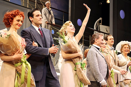 Anything Goes Opening Night  Jessica Stone  Colin Donnell  Sutton Foster  Joel Grey