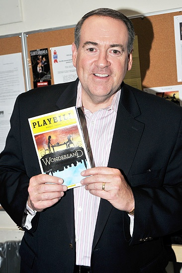 Mike Huckabee at &lt;i&gt;Wonderland&lt;/i&gt; - Mike Huckabee