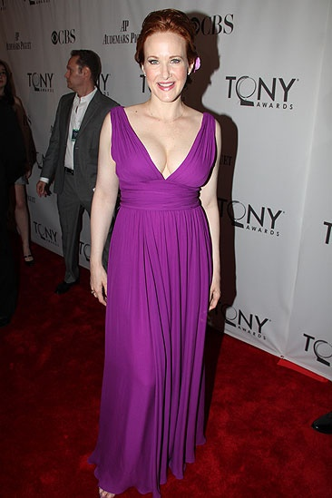 2011 Tony Awards Red Carpet  Katie Finneran 