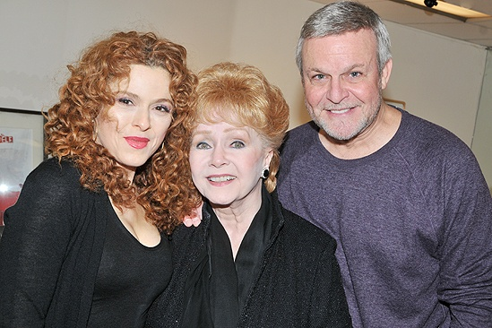 Debbie Reynolds at <i>Follies</i> - Bernadette Peters – Debbie Reynolds – Ron Raines