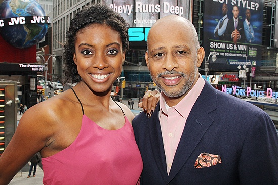 <i>Stick Fly</i> Meet and Greet – Condola Rashad – Ruben Santiago-Hudson