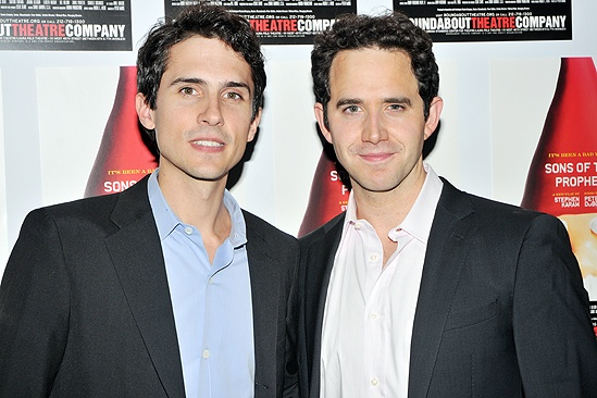 <i>Sons of the Prophet</i> Opening Night – Charles Socarides – Santino Fontana