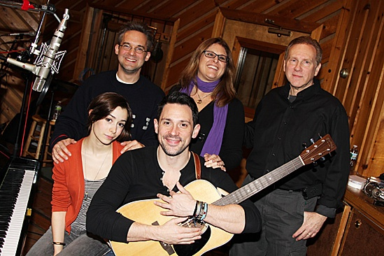 Once Cast Album Recording – Cristin Milioti – Steve Kazee – Liz Kaplan – Martin