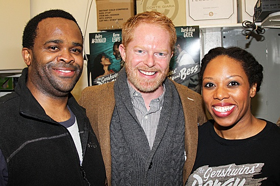 Porgy and Bess- Jesse Tyler Ferguson, Phumzile Sojola and Andrea Jones-Sojola