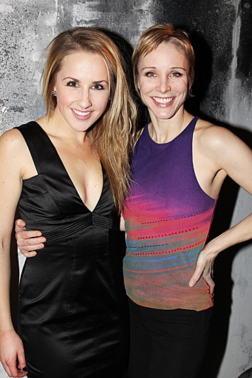 Carrie - Jeanna De Waal and Charlotte d'Amboise
