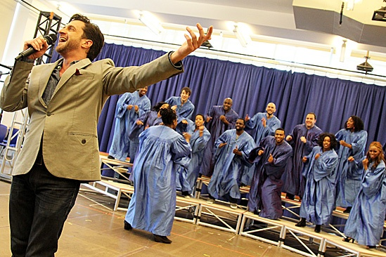 Leap of Faith Meet and Greet - Raúl Esparza and Choir